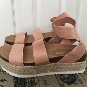 Trendy Espadrille Wedge Sandals